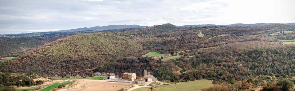 01.01.2016 mas Solà des de Bellera  Torà -  Ramon Sunyer