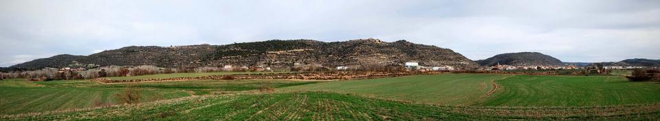 03.01.2016 vista del poble  Torà -  Ramon Sunyer