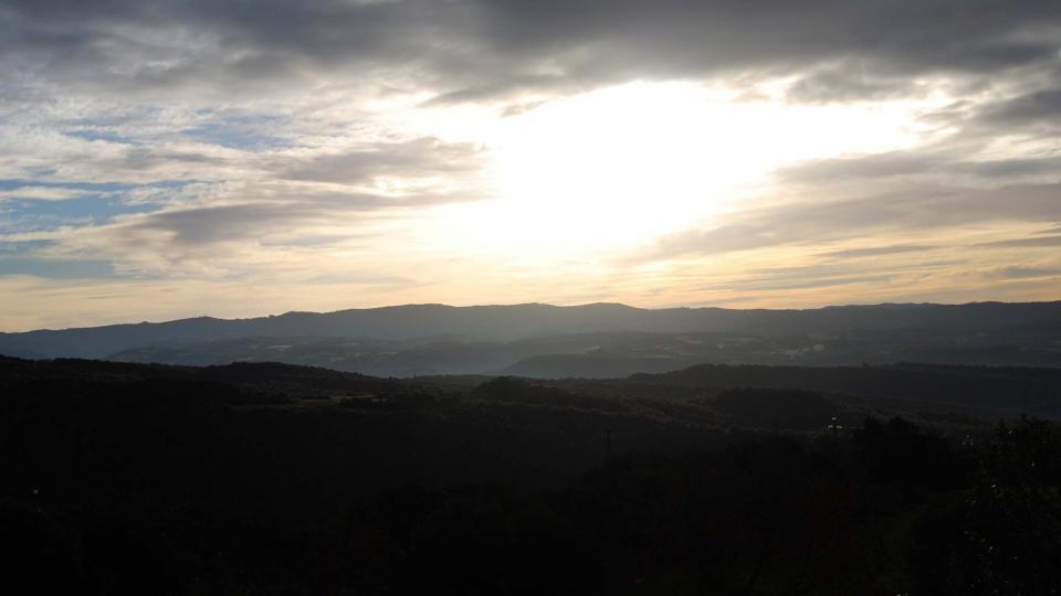 10.01.2016 De bon matí  Vallferosa -  Ramon Sunyer