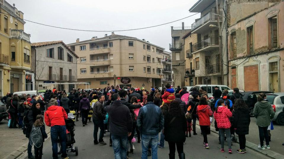 30.01.2016 Rua infantil amb Batucada Shangó  Torà -  Ramon Sunyer