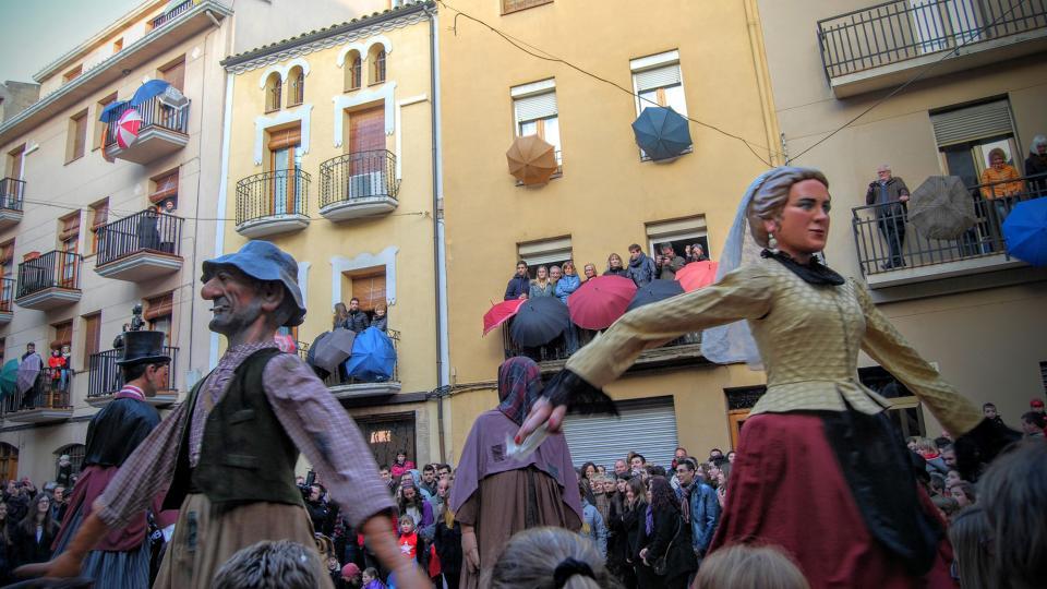 30.01.2016 ball dels gegants  Torà -  Ramon Sunyer