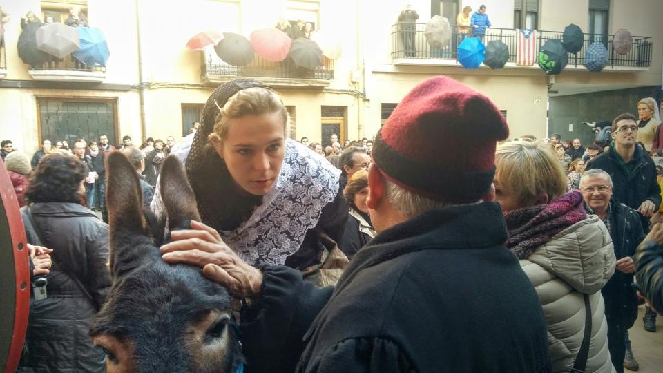 30.01.2016 calmant el ruc, esfereït pel seroll  Torà -  Ramon Sunyer