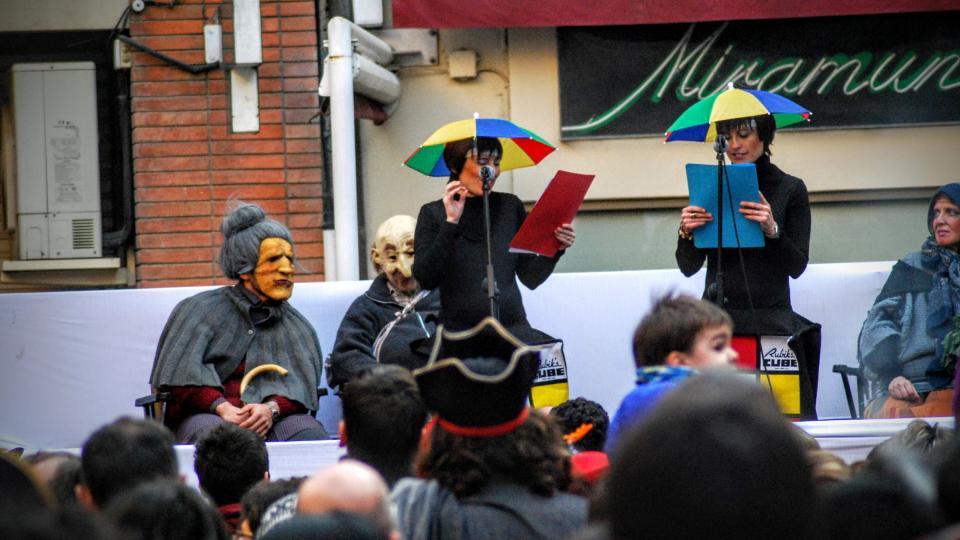 30.01.2016 les presentadores  Torà -  Ramon Sunyer