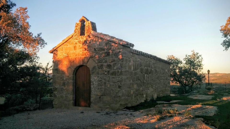 13.08.2015 Capella de Sant Pere del Soler Romànic Segle XII-XVII  Puigredon -  Ramon Sunyer