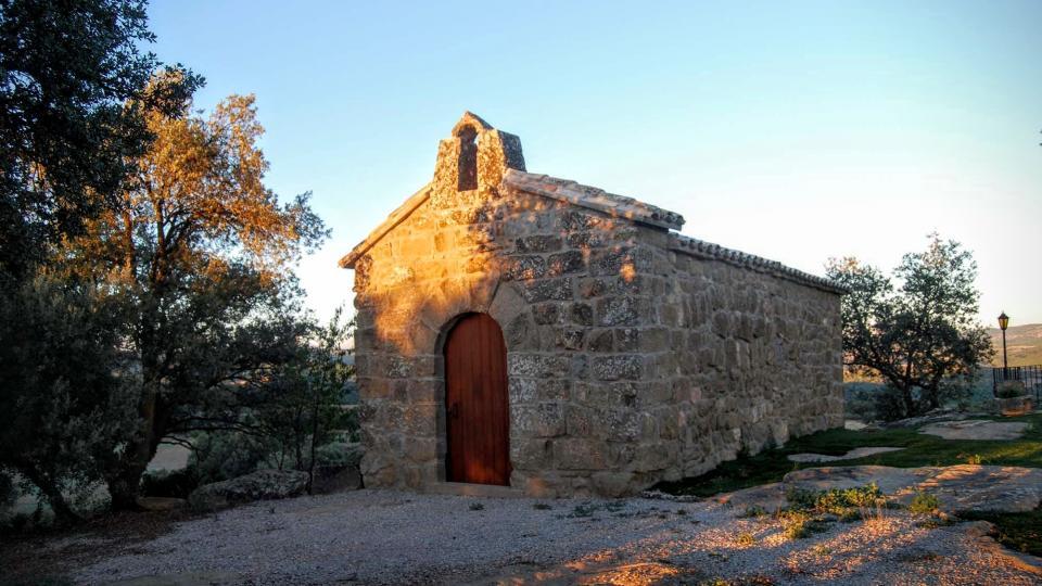 13.08.2015 Capella de Sant Pere del Soler Romànic Segle XII-XVII  Fontanet -  Ramon Sunyer