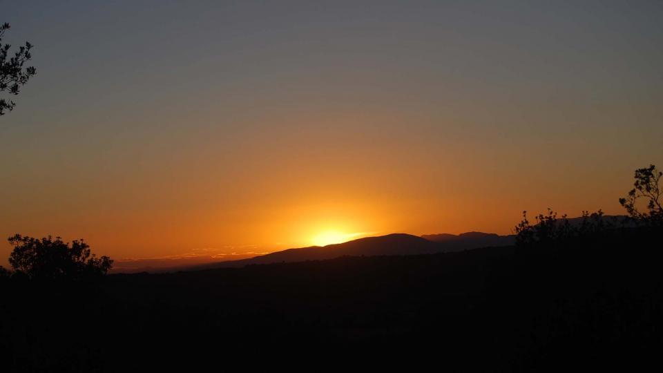 13.08.2015 posta de sol  Puigredon -  Ramon Sunyer