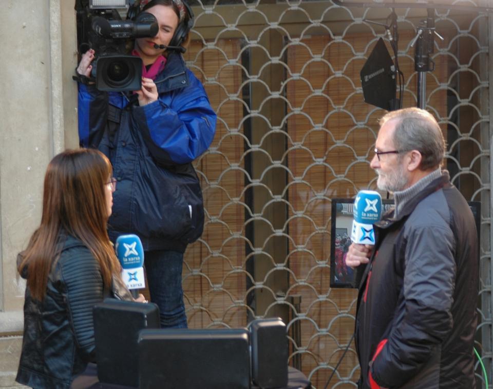 30.01.2016 El Fermí entrevistat a la TV  Torà -  Xavier Sunyer