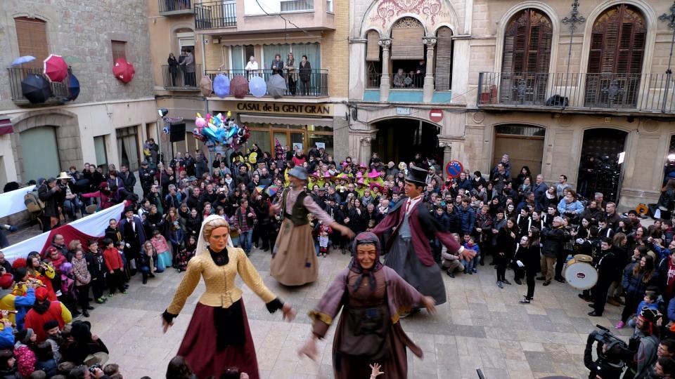 Els gegants fan el Ball del Bonic i la Bonica Foto: Xavier Sunyer - Torà