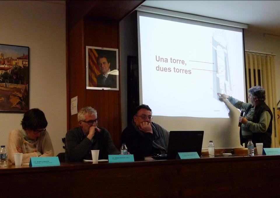 Intervenció del geòleg Màrius Vendrell - Vallferosa