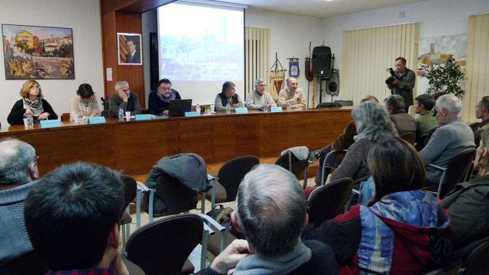 Presentació de l'estudi sobre la datació de la torre de Vallferosa - Vallferosa