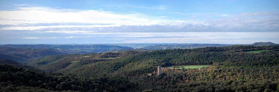 10.01.2016 panoràmica de la torre  Vallferosa -  Ramon Sunyer