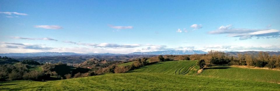 03.03.2016 paisatge  Calonge de Segarra -  Ramon Sunyer