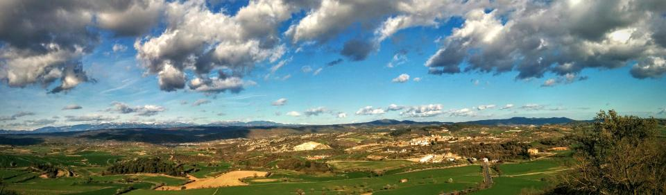09.02.2016 panoràmica de la vall  Ivorra -  Ramon Sunyer