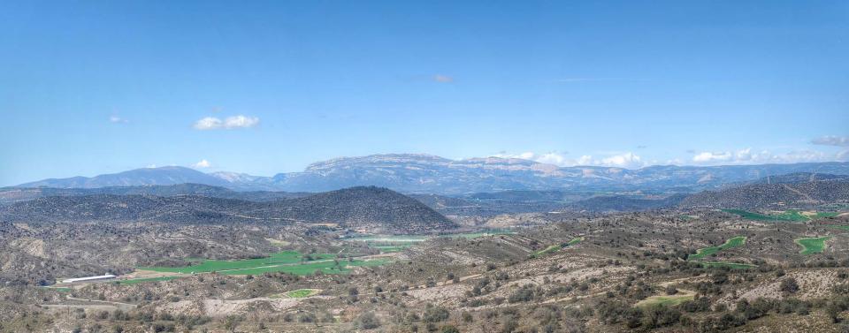 27.03.2016 vista del montsec  L'Alzina -  Ramon Sunyer