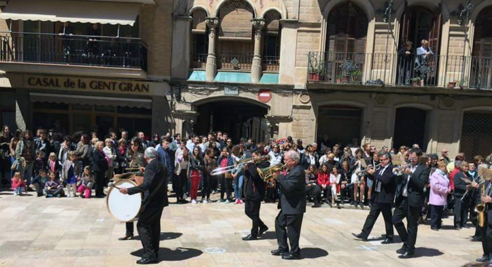 01.05.2016 Arribada a la plaça  Torà -  Marc Sales
