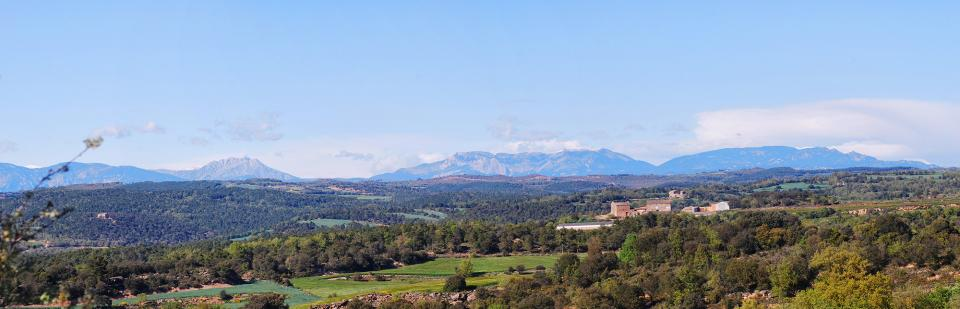 01.05.2016 Mas les Viles i el Pedraforca  Sant Serni -  Ramon Sunyer