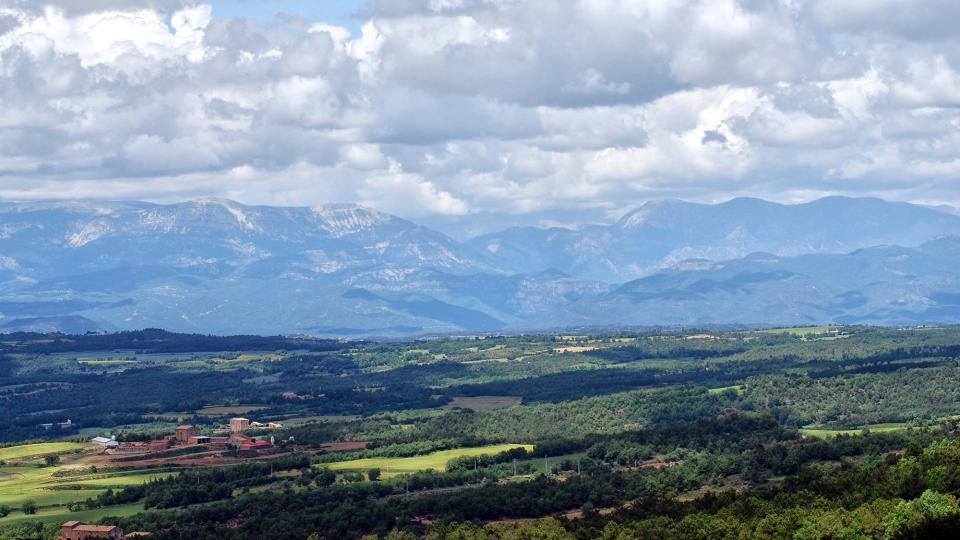 29.05.2016 paisatge  Pinós -  Ramon Sunyer
