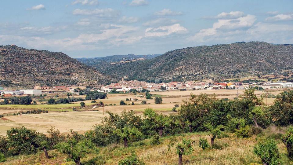 05.06.2016 vista des de les Torrovelles  Torà -  Ramon Sunyer