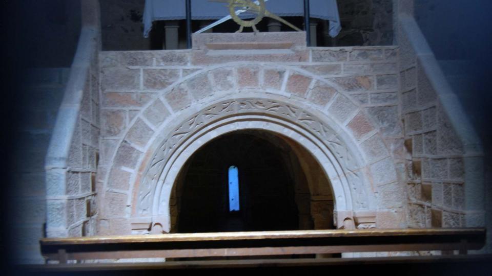 19.06.2016 cripta del monestir  Cellers -  Ramon Sunyer