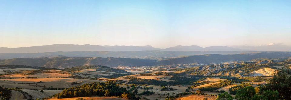 15.07.2016 vista des de Vicfred  Torà -  Ramon Sunyer