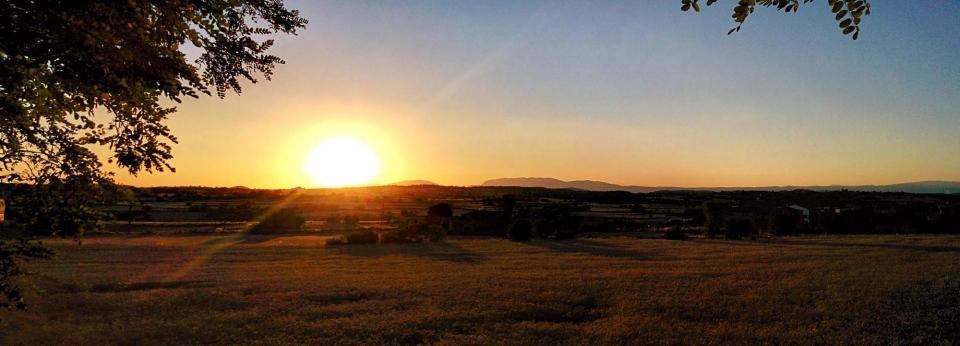 17.07.2016 posta de sol  Cabanabona -  Ramon Sunyer