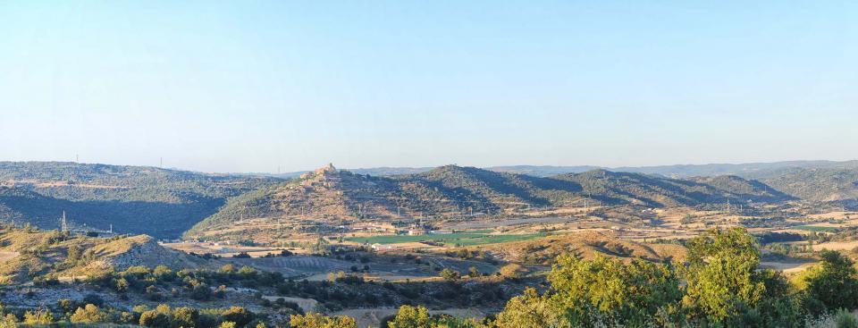17.07.2016 Vista des de l'Alzina  Ribelles -  Ramon Sunyer