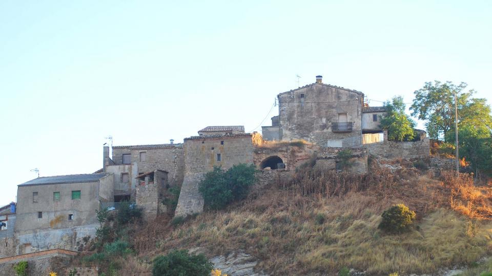 17.07.2016 vista del poble  L'Alzina -  Ramon Sunyer