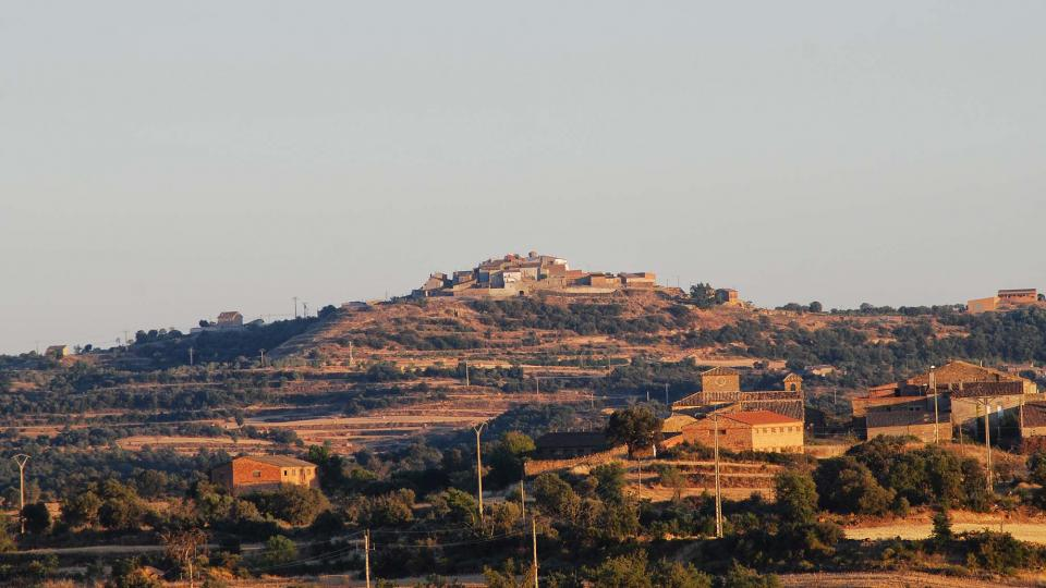 17.07.2016 vista del poble  Palou -  Ramon Sunyer
