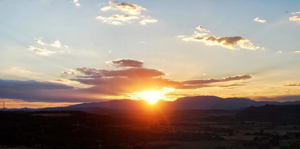 23.07.2016 posta de sol  Sanaüja -  Ramon Sunyer