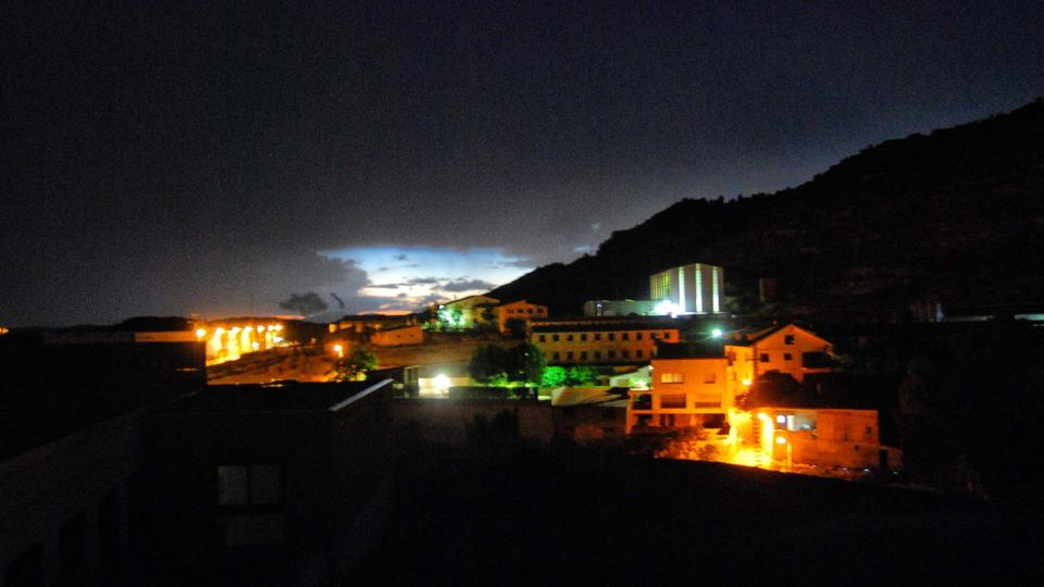 22.07.2016 posta de sol  Torà -  Ramon Sunyer
