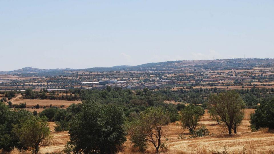 31.07.2016 vista des de Plandogau  Cabanabona -  Ramon Sunyer