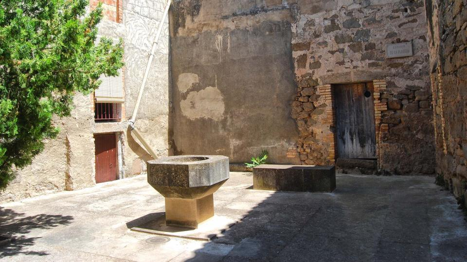 old Town portals i carrers - Author Ramon Sunyer (2016)