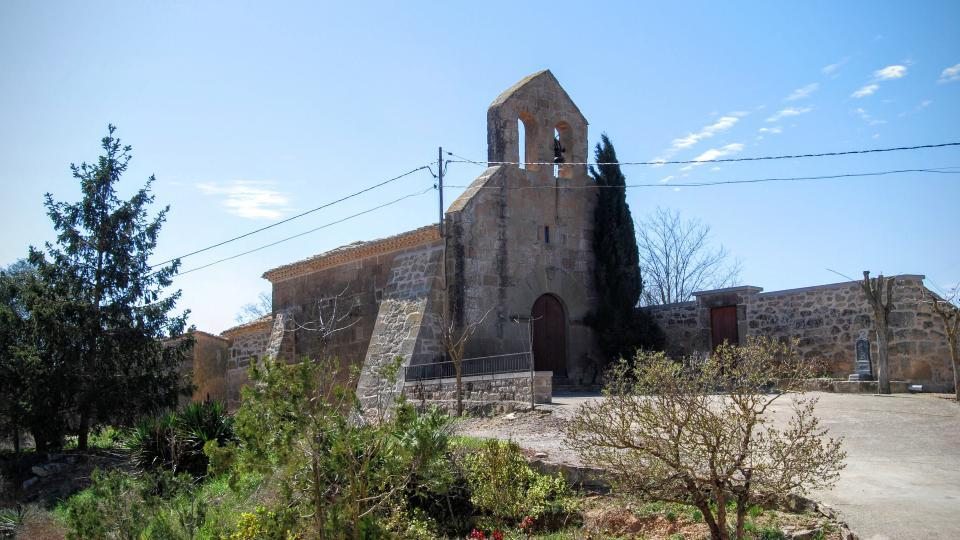 Església de  Sant Salvador - Autor Ramon Sunyer (2016)
