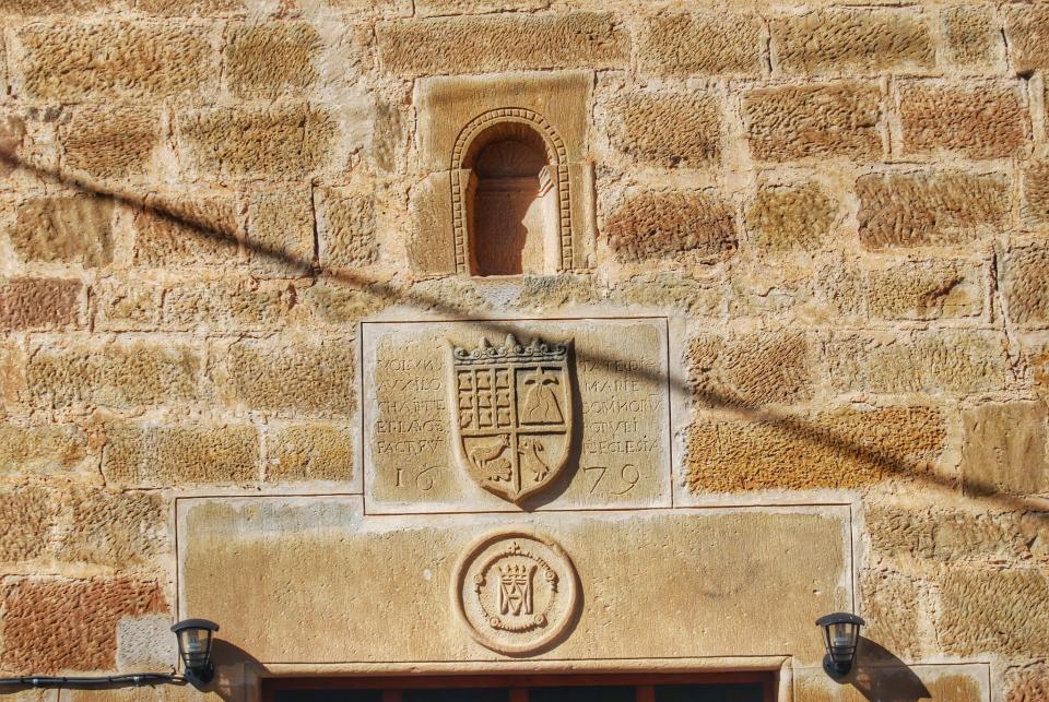 22.02.2015 Església Santa Maria   Vilanova de l'Aguda -  Ramon Sunyer