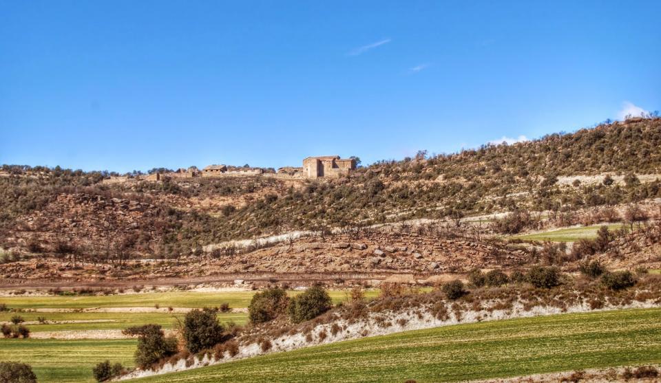 22.02.2015 paisatge  Vilanova de l'Aguda -  Ramon Sunyer