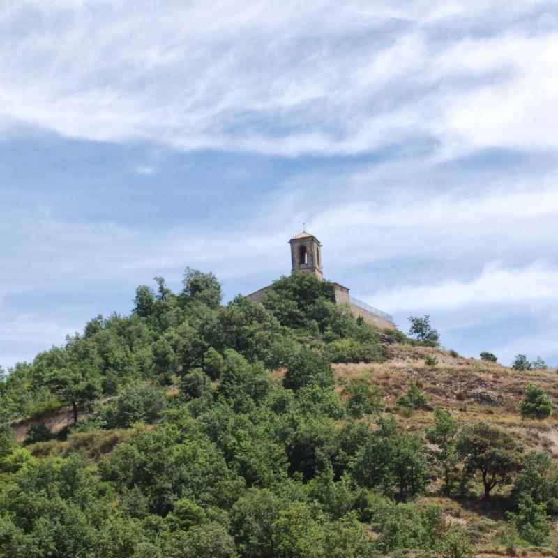 26.07.2015 església vella  La Molsosa -  Ramon Sunyer