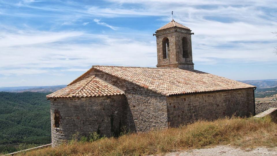 26.07.2015 Església Santa Maria Vella  La Molsosa -  Ramon Sunyer