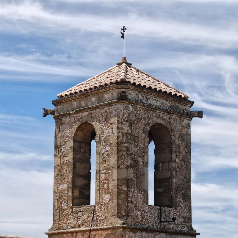 26.07.2015 campanar  La Molsosa -  Ramon Sunyer
