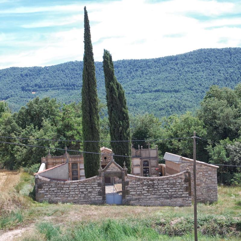 26.07.2015 cementiri  La Molsosa -  Ramon Sunyer