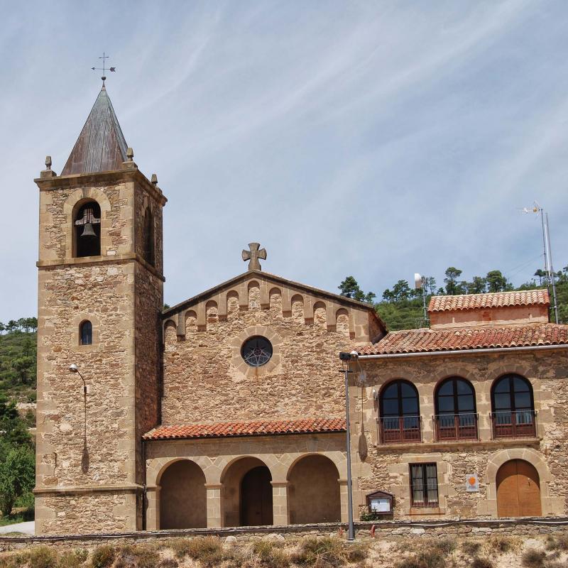 26.07.2015 Església Santa Maria Nova  La Molsosa -  Ramon Sunyer