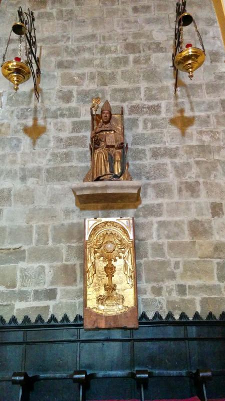 12.08.2016 església de Sant Gil  Torà -  Ramon Sunyer
