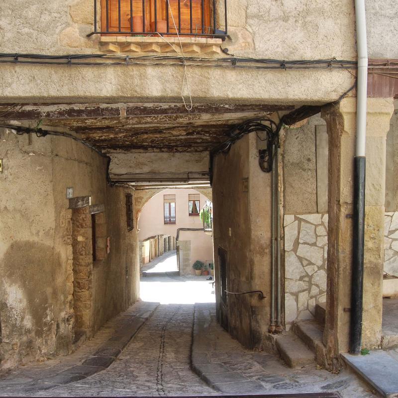 12.08.2016 portal  Torà -  Ramon Sunyer