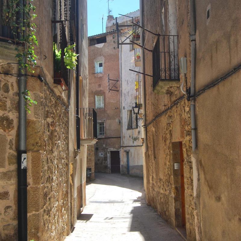 12.08.2016 carrer Baix  Torà -  Ramon Sunyer