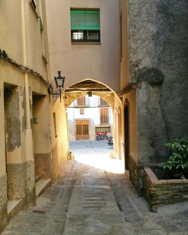 12.08.2016 carrer Ofrera  Torà -  Ramon Sunyer