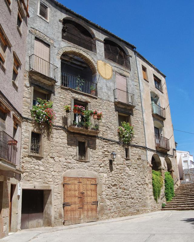 12.08.2016 casa Jovans  Torà -  Ramon Sunyer