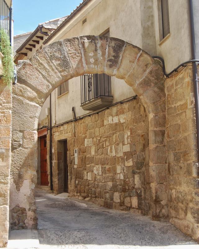 16.08.2016 Portal dels escots  Sanaüja -  Ramon Sunyer