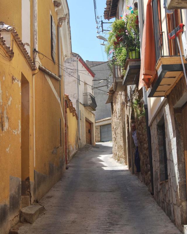 16.08.2016 carrer Morer  Sanaüja -  Ramon Sunyer