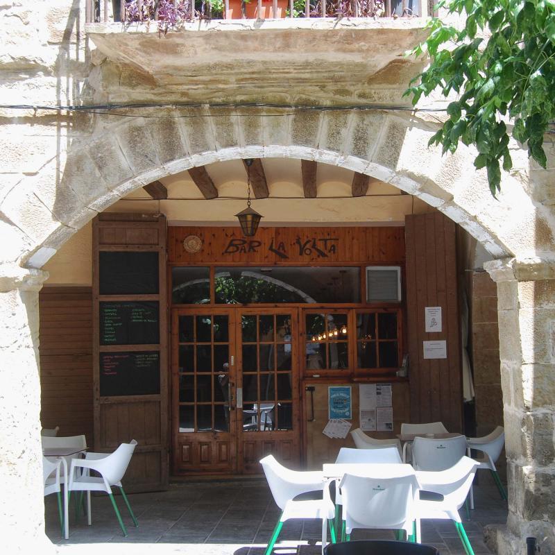 16.08.2016 Porxos plaça Major  Sanaüja -  Ramon Sunyer