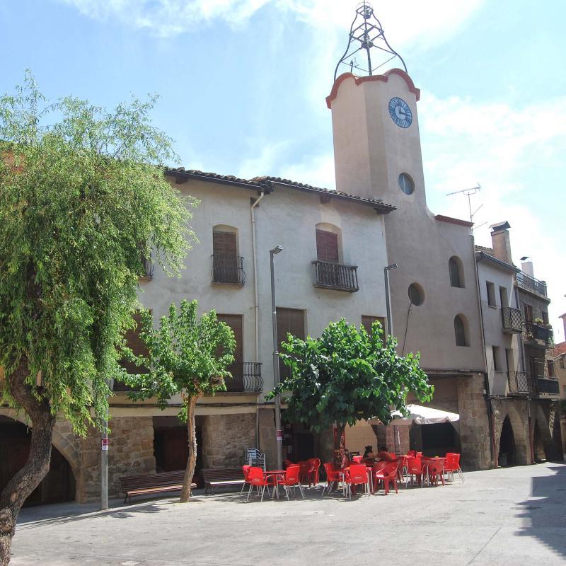 Bâtiment  Torre del Rellotge - Auteur Ramon Sunyer (2016)