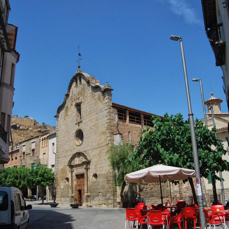 16.08.2016 Església Santa Maria de la Plaça  Sanaüja -  Ramon Sunyer